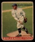 1933 Goudey #95  Alvin Crowder  Front Thumbnail