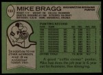 1978 Topps #133  Mike Bragg  Back Thumbnail