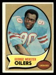 1970 Topps #120  George Webster  Front Thumbnail