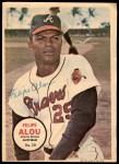 1967 Topps Pin-Ups #30  Felipe Alou  Front Thumbnail