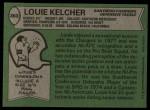 1978 Topps #360  Louie Kelcher  Back Thumbnail