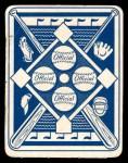 1951 Topps Blue Back #44  John Wyrostek  Back Thumbnail