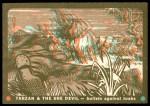 1953 Topps Tarzan and the She Devil #44   Bullets against Tusks Front Thumbnail