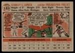 1956 Topps #183  Stan Lopata  Back Thumbnail