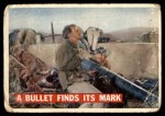1956 Topps Davy Crockett #76   Bullet Finds Its Mark  Front Thumbnail