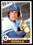 1979 Topps #547  Clint Hurdle  Front Thumbnail