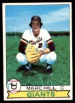 1979 Topps #11  Marc Hill  Front Thumbnail