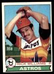 1979 Topps #437  Rick Williams  Front Thumbnail