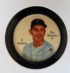 1962 Salada Coins #6  Ray Herbert  Front Thumbnail
