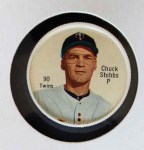 1962 Salada Coins #90 RED Chuck Stobbs  Front Thumbnail