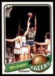 1979 Topps #31  Alex English  Front Thumbnail