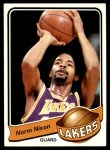 1979 Topps #97  Norm Nixon  Front Thumbnail
