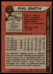 1979 Topps #53  Phil Smith  Back Thumbnail