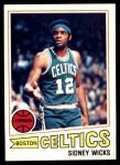 1977 Topps #52  Sidney Wicks  Front Thumbnail