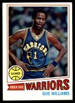 1977 Topps #89  Gus Williams  Front Thumbnail