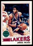 1977 Topps #33  Jamaal Wilkes  Front Thumbnail