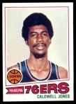 1977 Topps #34  Caldwell Jones  Front Thumbnail