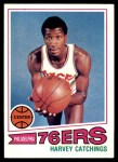 1977 Topps #81  Harvey Catchings  Front Thumbnail