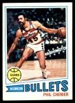 1977 Topps #55  Phil Chenier  Front Thumbnail