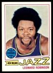 1977 Topps #74  Leonard Robinson  Front Thumbnail
