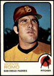 1973 Topps #381  Vicente Romo  Front Thumbnail