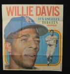 1970 Topps Poster #3  Willie Davis      Front Thumbnail