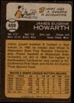 1973 Topps #459  Jimmy Howarth  Back Thumbnail