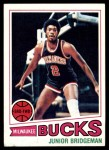 1977 Topps #114  Junior Bridgeman  Front Thumbnail