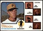 1973 Topps #517 BRN  -  Bill Virdon / Don Leppert / Bill Mazeroski / Dave Ricketts / Mel Wright Pirates Leaders Front Thumbnail