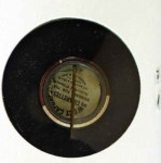 1910 Sweet Caporal Pins SM Chief Bender  Back Thumbnail