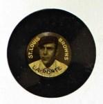 1910 Sweet Caporal Pins LG Frank LaPorte  Front Thumbnail