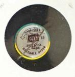 1965 Guys Potato Chip Pin #10   Los Angeles Angels Back Thumbnail
