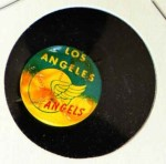 1965 Guys Potato Chip Pin #10   Los Angeles Angels Front Thumbnail