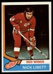 1974 Topps #193  Nick Libett  Front Thumbnail