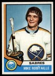 1974 Topps #159  Mike Robitaille  Front Thumbnail