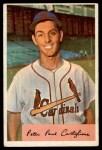 1954 Bowman #174 B Pete Castiglione  Front Thumbnail