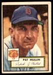 1952 Topps #275  Pat Mullin  Front Thumbnail