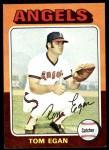 1975 Topps #88  Tom Egan  Front Thumbnail