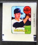 1969 Topps Decals  Dave McNally  Front Thumbnail