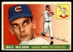 1955 Topps #86  Bill Wilson  Front Thumbnail