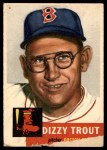 1953 Topps #169  Dizzy Trout  Front Thumbnail