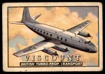 1952 Topps Wings #85   Viscount Front Thumbnail