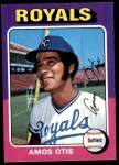 1975 Topps #520  Amos Otis  Front Thumbnail