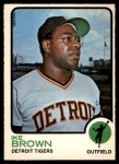 1973 O-Pee-Chee #633  Ike Brown  Front Thumbnail