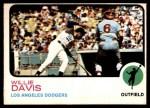1973 O-Pee-Chee #35  Willie Davis  Front Thumbnail