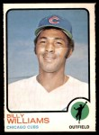 1973 O-Pee-Chee #200  Billy Williams  Front Thumbnail