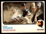 1973 O-Pee-Chee #574  Bob Didier  Front Thumbnail