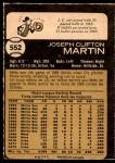1973 O-Pee-Chee #552  J.C. Martin  Back Thumbnail