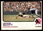 1973 O-Pee-Chee #263  George Scott  Front Thumbnail