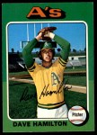 1975 O-Pee-Chee #428  Dave Hamilton  Front Thumbnail